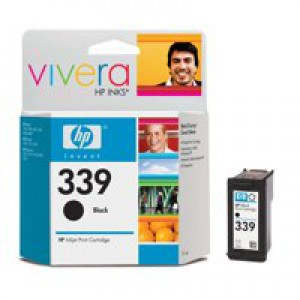 Hewlett Packard [HP] No. 339 Inkjet Cartridge Page Life 800pp 21ml Black Ref C8767EE-abb