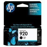 Hewlett Packard [HP] No. 920 Inkjet Cartridge Page Life 420pp Black Ref CD971AE