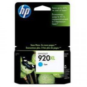 Hewlett Packard [HP] No. 920XL Inkjet Cartridge Page Life 700pp Cyan Ref CD972AE#BGX
