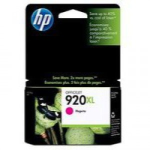 HP No.920XL Officejet Ink Cartridge Magenta Code CD973AE