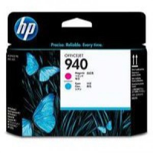 HP No.940 Officejet Printhead Cyan and Magenta Code C4901A