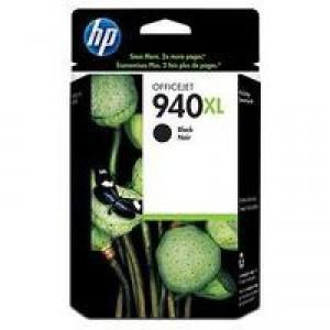 HP No.940XL Officejet Inkjet Cartridge Black Code C4906AE