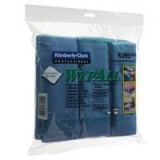 Wypall Microfibre Cloth Blue Pack of 6 8395