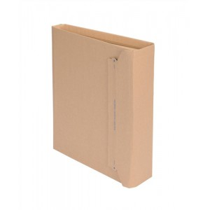 Lever Arch File Mailer Internal W320x35-80x290mm Brown [Pack 20]