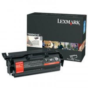 Lexmark T65X Black Corp Toner T650H31E