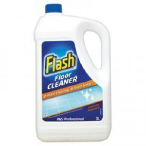 Flash Clean and Care Cleaner with Bicarbonate of Soda for Stone Ceramic Steel 5 Litres Code VPGFCCM