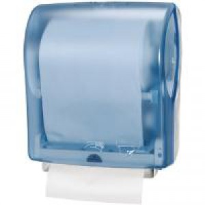 Lotus enMotion Dispenser Touchless Wall-mounted for Hand Towel Fully-enclosing Blue Ref K90000A