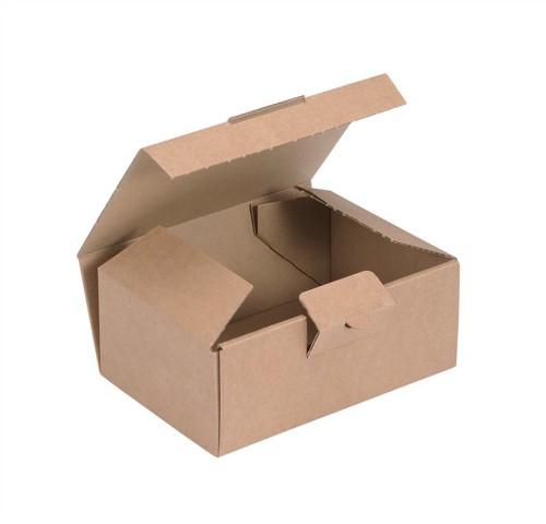 Kraft Mailing Box W160xD110xH64mm Brown [Pack 20]