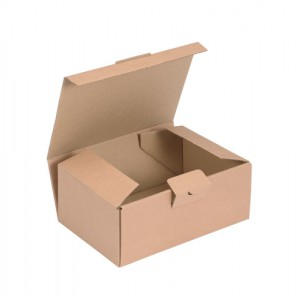 Kraft Mailing Box W190xD131xH76mm Brown [Pack 20]