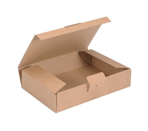 Kraft Mailing Box W220xD155xH50mm Brown [Pack 20]