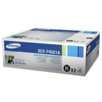 Samsung Laser Toner Cartridge and Drum Unit Page Life 6000pp Black Ref SCX-P4521A/ELS [Pack 2]