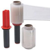 Film Wrap Stretch Packaging Mini Dispenser and 6 Refill Rolls 100mmx150m