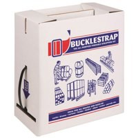 Strap and Buckle Kit Box of 12mmx600m Strap and 200 Plastic Buckles