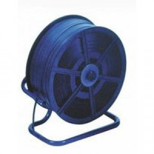 Floorstand for Reels of Polypropylene Strapping Blue