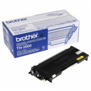 Brother Laser Toner Cartridge Black Ref TN2000