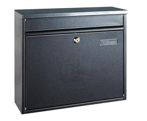 Rottner Hochhaus II Mail Box 325x35mm Opening W360xD115xH315mm Anthracite Ref T02804