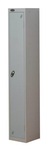 Trexus Plus 1 Door Locker Nest of 1 ACTIVECOAT W305xD305xH1780mm Silver Ref