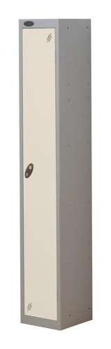 Trexus Plus 1 Door Locker Nest of 1 ACTIVECOAT W305xD305xH1780mm Silver White Ref
