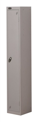 Trexus Plus 1 Door Locker Nest of 1 Extra Depth ACTIVECOAT W305xD460xH1780mm Silver Ref