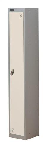 Trexus Plus 1 Door Locker Nest of 1 Extra Depth ACTIVECOAT W305xD460xH1780mm Silver White Ref
