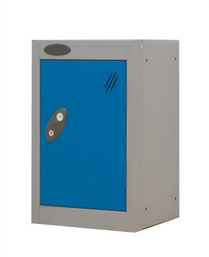 Trexus Plus Nesting Quarto Locker ACTIVECOAT 305x305x480mm Silver Blue Ref