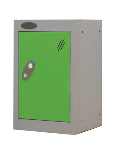 Trexus Plus Nesting Quarto Locker ACTIVECOAT 305x305x480mm Silver Green Ref