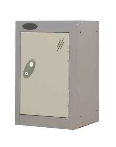 Trexus Plus Nesting Quarto Locker ACTIVECOAT 305x305x480mm Silver White Ref