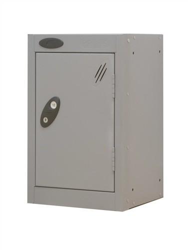Trexus Plus Nesting Quarto Locker Extra Depth ACTIVECOAT 305x460x480mm Silver Ref