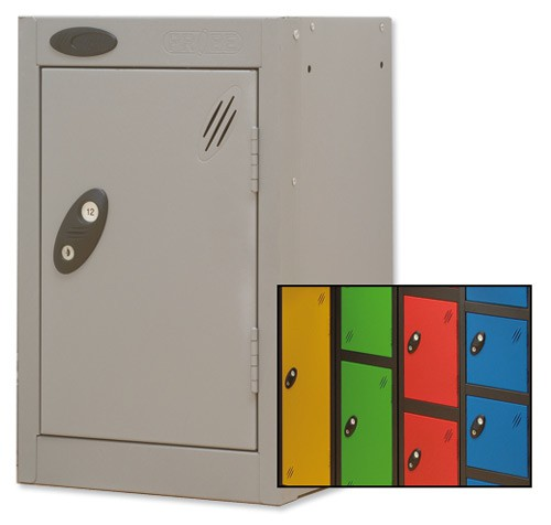 Trexus Plus Quarto Locker ACTIVECOAT 305x305x480mm Black Yellow Ref