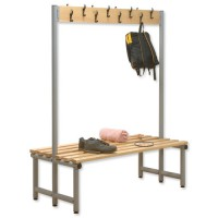Image for Trexus Double Sided Bench with Hooks 1000x720mm Ref