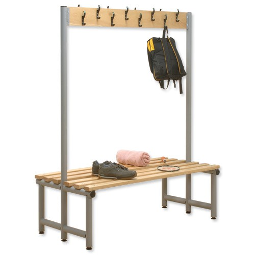 Trexus Double Sided Bench with Hooks 2000x720 Ref
