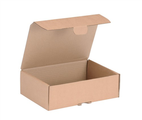 Mailing Carton Easy Assemble S 250x175x80mm Brown [Pack 20]