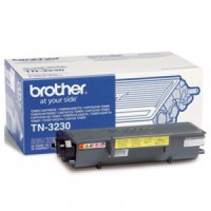 Brother Laser Toner Cartridge Page Life 3000pp Black Ref TN3230