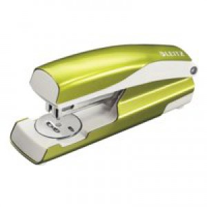 Leitz 5502 Nexxt Metal Stapler Wow Green Metallic 30 Sheets