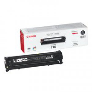 Canon 716BK Laser Toner Cartridge Black Code 1980B002AA