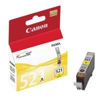 Canon CLI-521Y Inkjet Cartridge Yellow Ref 2936B001AA