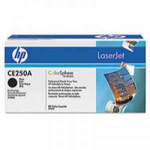 HP No.504A Laser Toner Cartridge Black Code CE250A