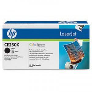 Hewlett Packard [HP] No. 504X Laser Toner Cartridge Page Life 10500pp Black Ref CE250X