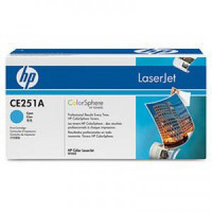 HP No.504A Laser Toner Cartridge Cyan Code CE251A