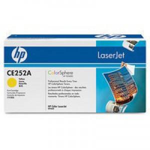 HP No.504A Laser Toner Cartridge Yellow Code CE252A