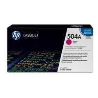 Hewlett Packard [HP] No. 504A Laser Toner Cartridge Page Life 7000pp Magenta Ref CE253A