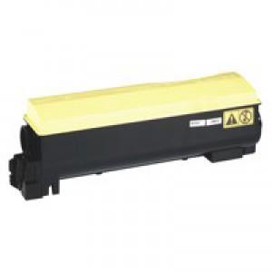 Kyocera TK-550Y Laser Toner Cartridge Page Life 6000pp Yellow Ref 1T02HMAEU0