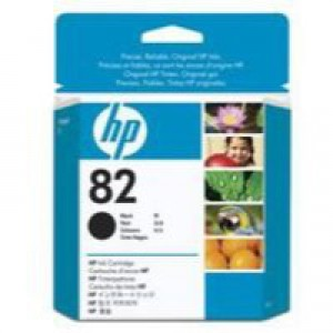 Hewlett Packard [HP] No. 82 Inkjet Cartridge 69ml Black Ref CH565A