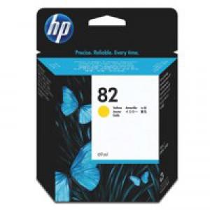 HP No.82 Inkjet Cartridge 28ml Yellow Code CH568A