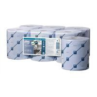 Lotus Reflex Wiper Roll 2-Ply 429 Sheets of 200x350mm on 150m Roll Blue Ref E02221C [Pack 6]