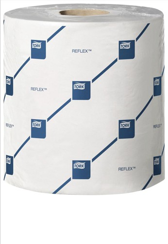 Lotus Reflex Wiper Roll 2-Ply 429 Sheets of 200x350mm on 150m Roll White Ref E02222C [Pack 6]