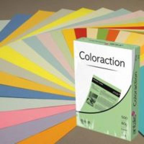 Coloraction Tinted Paper Mid Blue (Malta) FSC4 A4 210X297mm 80Gm2 Pack 500