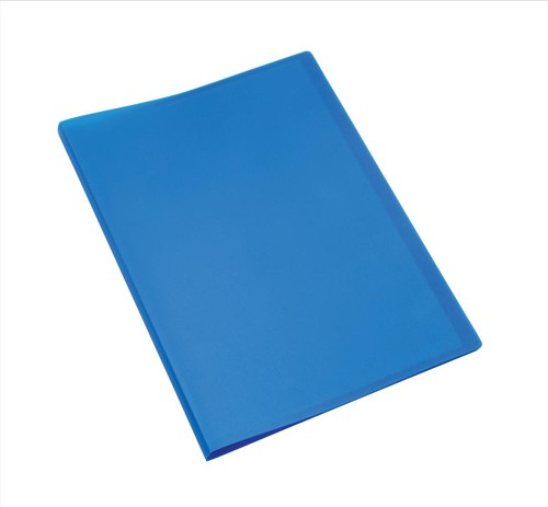 5 Star Display Book Soft Cover Lightweight Polypropylene 20 Pockets A4 Blue