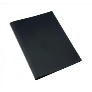 5 Star Display Book Soft Cover Lightweight Polypropylene 20 Pockets A4 Black
