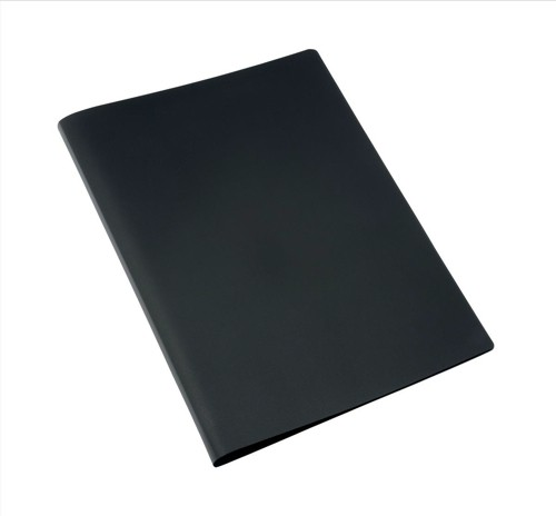 5 Star Display Book Soft Cover Lightweight Polypropylene 20 Pockets A4 Black